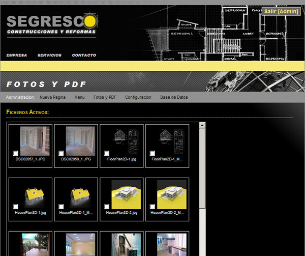 SEGRESCO Image Library