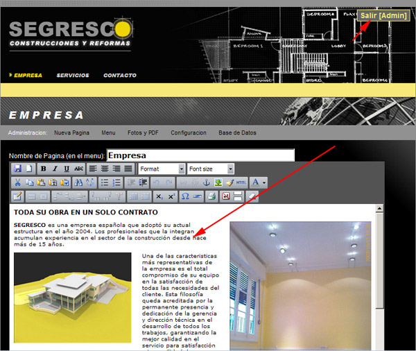 Segresco - In Context Editing