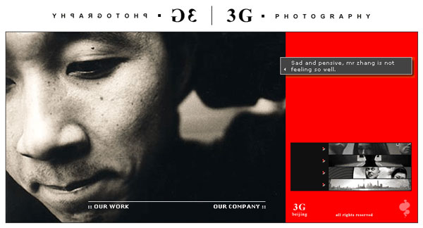3G Photography Main Page