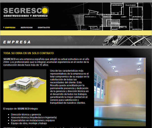 Segresco.com Main Page